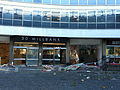 30 Millbank after protest vandalism.jpg