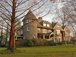 Horace Trumbauer - John H. Watt house, Wayne, PA (1893).