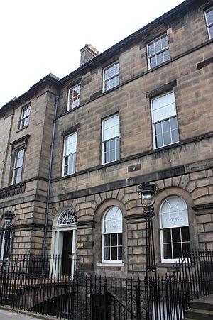 Thomas Annandale - Annandale's house at 31 Charlotte Square, Edinburgh