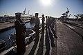 31st MEU Marines man the rails aboard the USS Bonhomme Richard (LHD-6) 150625-M-CX588-031.jpg