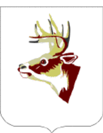 395th Infantry Regiment (United States) - 395th Infantry Regiment coat of arms.