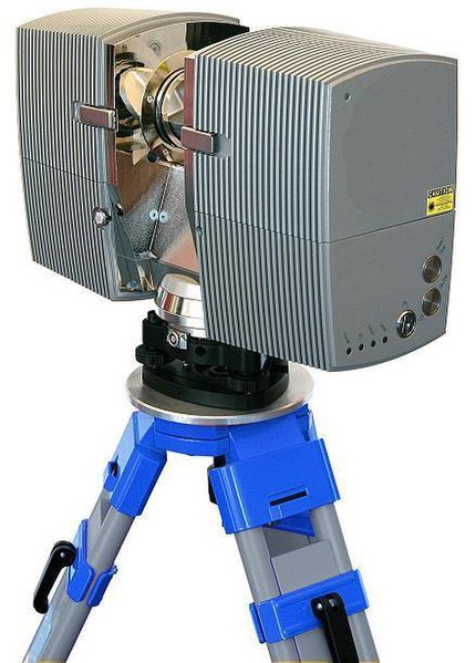 File:3D-Laserscanner on tripod.jpg