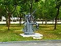 3 Inch 50 Caliber Anti-Aircraft Gun Display at Chengkungling Front View 20121006.jpg