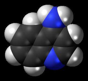 4-Aminoquinoline - Image: 4 Aminoquinoline 3D spacefill