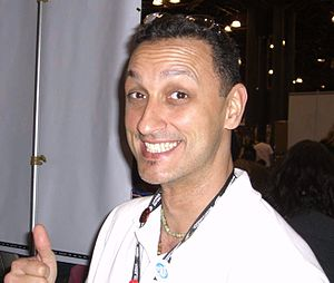 Rags Morales - Morales at the 2008 New York Comic Con.
