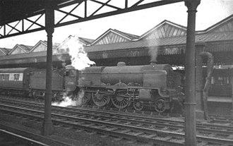 LMS Patriot Class - 45501 St. Dunstans at Stafford, 1954