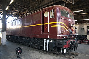 New South Wales 46 class locomotive - 4615 at Junee Roundhouse Museum in March 2011