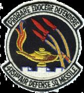 4751st Air Defense Squadron - ADC - Emblem