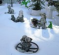 47 Seaman Avenue statuettes in the snow 3.jpg