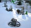 47 Seaman Avenue statuettes in the snow 3.jpg