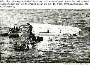 Pan Am Flight 6 - Image: 561016Pan Am Ditches 5