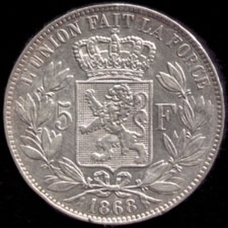 Latin Monetary Union - Leopold II of Belgium