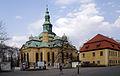 6358 Kościół i cmentarz Jelenia Góra - Cieplice. Foto Barbara Maliszewska.JPG