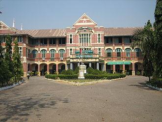 Yangon City Heritage List - BEHS 6 Botataung