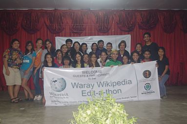 6th Waray Wikipedia Edit-a-thon 31.jpg
