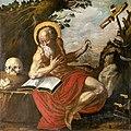 81 - Saint Jérôme dans le désert - anonyme - Église Notre-Dame du bourg - Sacristie - XVII° - PalissyPM81000295.jpg