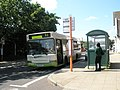 94 bus waits outside Petersfield Station - geograph.org.uk - 835720.jpg