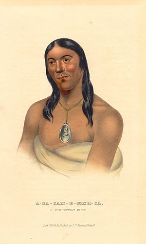 History of the Indian Tribes of North America - Image: A na cam e gish ca