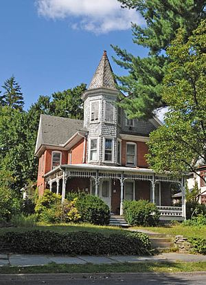 Academy Hill Historic District (Stroudsburg, Pennsylvania) - Image: ACADEMY HILL HISTORIC DISTRICT, MONROE COUNTY