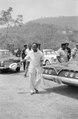 ASC Leiden - NSAG - van Es 17-016 - Visiting President Kwame Nkrumah is waving with a tropical hat - Volta Dam, Akosombo, Ghana - late February 1962.tif