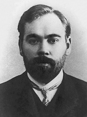 Mikhail Pokrovsky - Bolshevik philosopher and writer Alexander Bogdanov (1873-1928), with whom Pokrovsky was closely associated during his years of European exile.