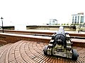 A Cannon protects the entrance to Hull Marina - geograph.org.uk - 802578.jpg