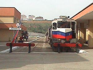 TCDD DE33000 - A DE33000 at Bandirma Station.