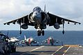A Harrier GR7 of 1 Squadron RAF took part in Deck Operations on-board HMS Illustrious. MOD 45146085.jpg
