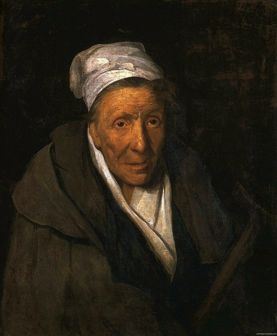A Madwoman and Compulsive Gambler 1822 Theodore Gericault