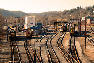 Mountain Subdivision CSX rail line
