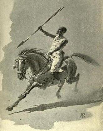 Rizeigat tribe - Rizeigat warrior