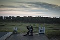 A U.S. Army M4 rifle is in place on the night fire range during the Army Reserve Command Best Warrior Competition at Fort McCoy, Wis., June 26, 2013 130626-A-IN286-010.jpg