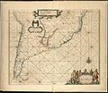 A chart of the sea coast of Brazil from Cape St. Augustine to the straights of Magellan, & in the South Sea, from the latitud of eight degrees, to the said straights (8430952176).jpg