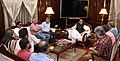 A delegation of journalists meeting the Union Home Minister, Shri Rajnath Singh, in New Delhi on October 04, 2017.jpg