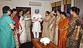 A delegation of women Parliamentarians meeting the Prime Minister, Dr. Manmohan Singh on International Women's Day, in New Delhi on March 08, 2008.jpg