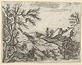 A landscape with water in the foreground and mountains in the distance MET DP836197.jpg