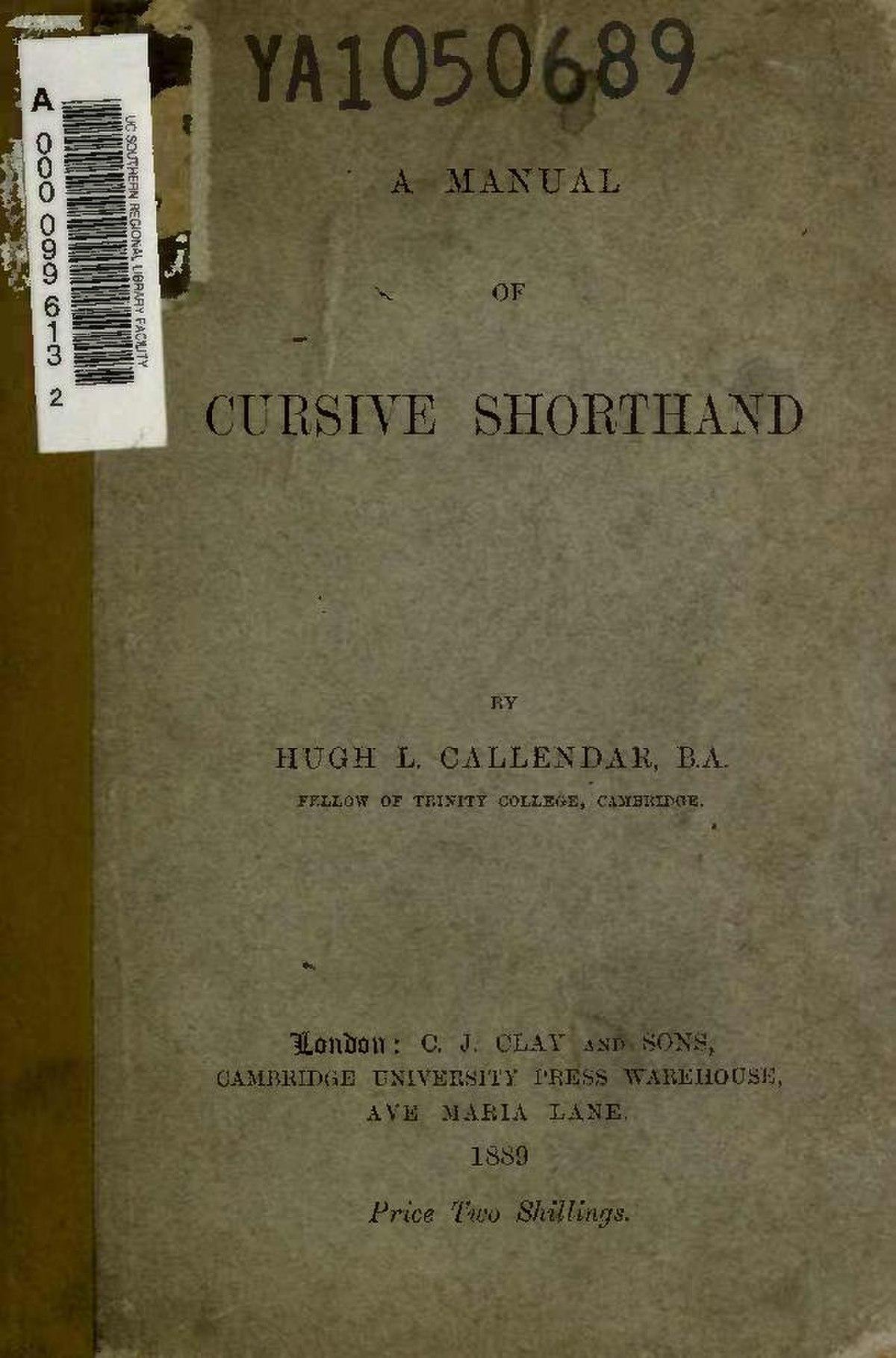 File:A manual of cursive shorthand (IA manualofcursives00calliala ...