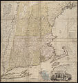A map of the most inhabited part of New England, containing the provinces of Massachusets Bay and New Hampshire, with the colonies of Conecticut and Rhode Island ... (3120216821).jpg