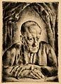 Aba-Novák Portrait of Jenő Simkovics 1922.jpg