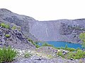 Abandoned slate quarry at Bethesda - geograph.org.uk - 226640.jpg