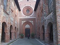 Abbazia San Nazzaro (NO) Facciata Chiesa.JPG
