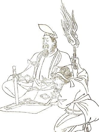 Onmyōdō - Abe no Seimei, a famous onmyōji
