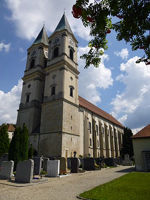 Niederaltaich Abbey - The church of the abbey