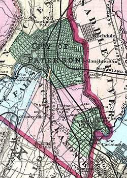 Acquackanonk Township in 1872