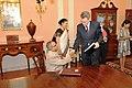 Acting Assistant Secretary Pyatt Shakes Hands With Indian Finance Minister Mukherjee (4727935087).jpg
