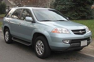 Acura MDX - 2001-2003 Acura MDX
