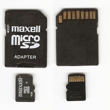 tarjetas de memoria externa