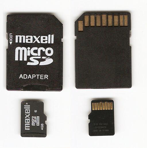 que tarjetas de memoria usan las tablet