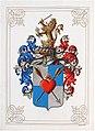 Adelsdiplom - Szászy de Szász 1916 - Wappen.jpg