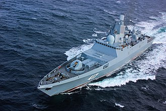 Frigate - Admiral Sergei Gorshkov, an Admiral Gorshkov-class frigate of the Russian Navy